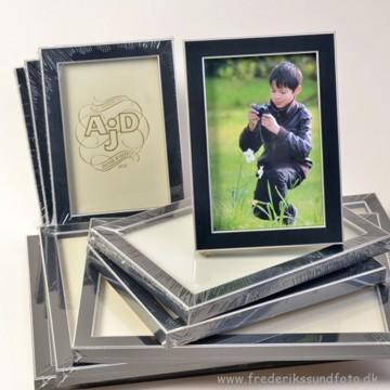 ADJ 2255 Træramme Sort/Sølv 15x20