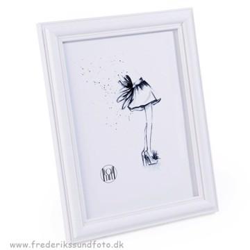 Tango Wood White 10x15 billedramme