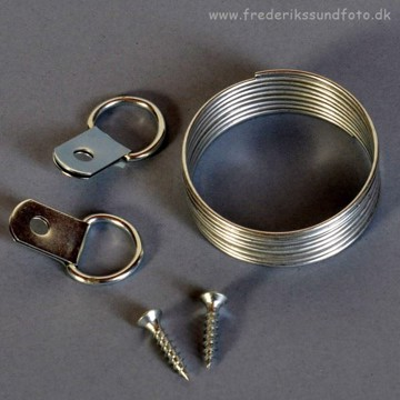 Estancia Wire-kit med skruer og kroge