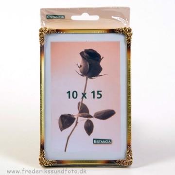 Rose metal 10x15 guld