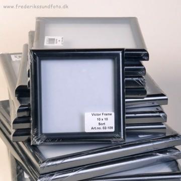 Victor Collection sort 10x10 cm billedramme