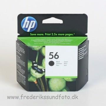 HP 56 Sort blækpatron