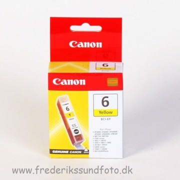Canon BCI-6Y Gul blækpatron