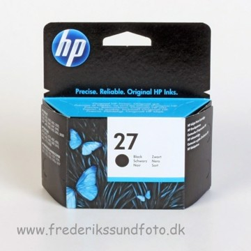HP 27 Sort blækpatron