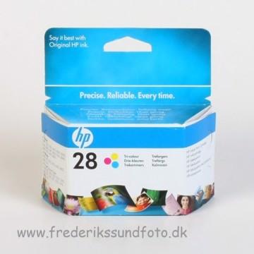 HP 28 Farve blækpatron