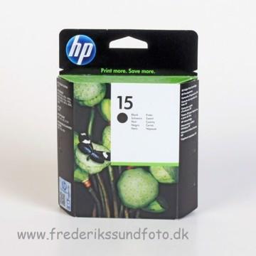 HP 15 Sort blækpatron