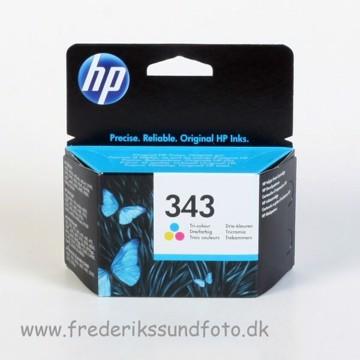 HP 343 Farve blækpatron