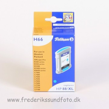 Pelikan H66 til HP 88 XL Cyan blækpatron