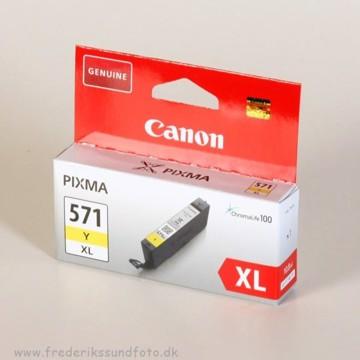 Canon CLI-571Y XL Blækpatron
