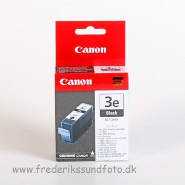 Canon BCI-3eBK Sort blækpatron