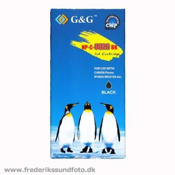 G&G NP-C-0526 til CANON CLI-526BK Sort blækpatron