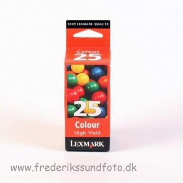 Lexmark 25 farve blækpatron