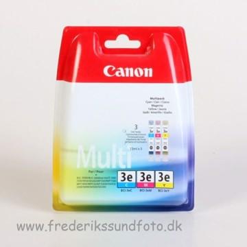 Canon BCI-3eC,M,Y multi blækpatron