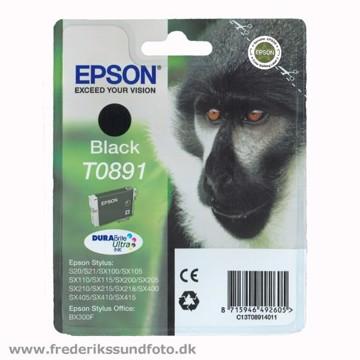 EPSON T0891 sort blæk
