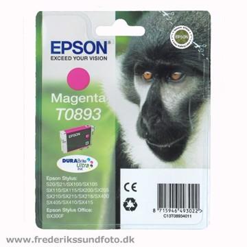 Epson T0893 Magenta blækpatron
