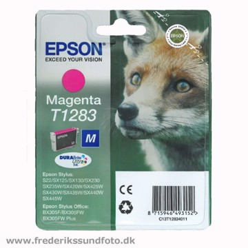 Epson T1283 Magenta blækpatron