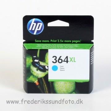 HP 364 XL Cyan blækpatron