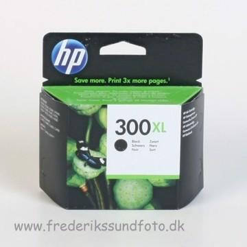 HP 300 XL Sort blækpatron
