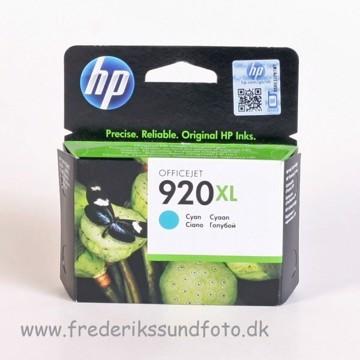 HP 920 XL Cyan blækpatron