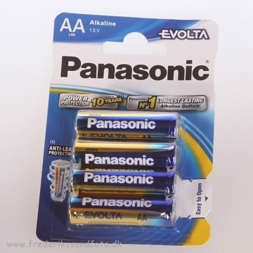 Panasonic Evolta AA LR6 batterier