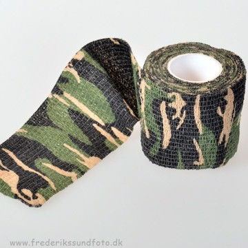 Camouflage tape Jungle Camo 5 cm x 4,5 meter