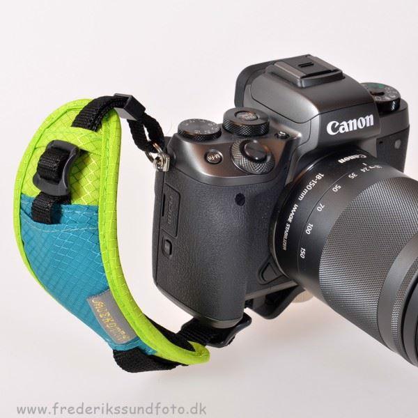 JENO TTY Kamera Håndrem grøn