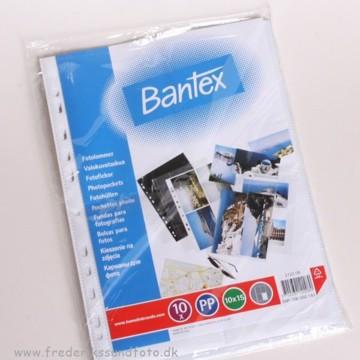 10x15 Bantex hvid Fotolomme 2122