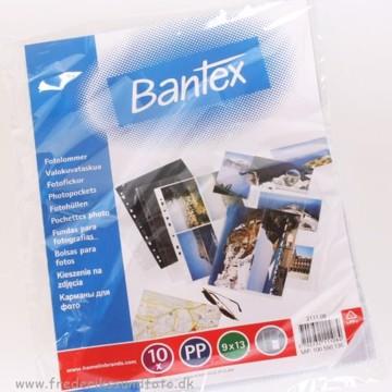 9x13 Bantex Klar Fotolomme 2111