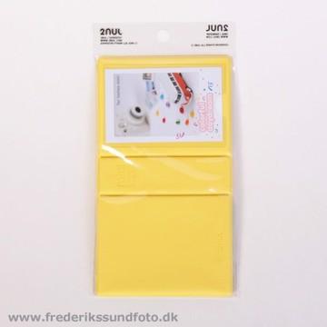 Album til 29 Instax mini billeder Lemon