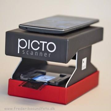 Picto Scanner negativ & dia scanner til smartphone