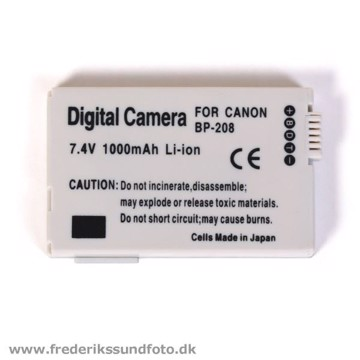 Digital Camera Canon BP-208