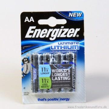 Energizer AA Lithium 4 pak.