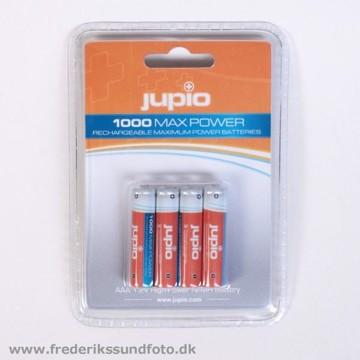 Jupio AAA Ni-MH 1000mAh genopladelige batterier