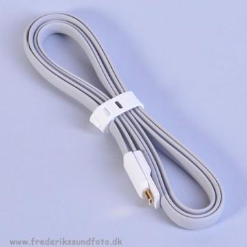 Vojo Micro USB Trim kabel grå