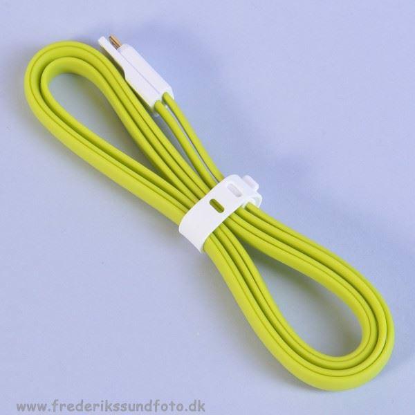 Vojo Micro USB Trim kabel grøn