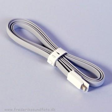 Vojo Lightning iTrim kabel grå