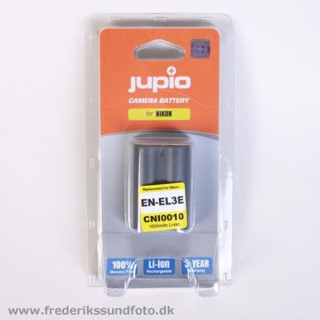 Jupio CNI0010 Nikon EN-EL3E 1600mAh batteri
