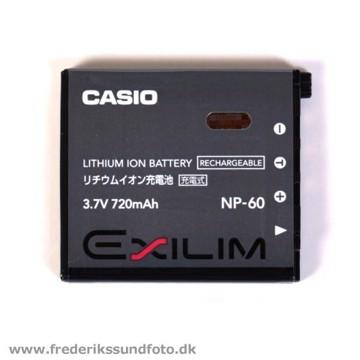Casio Exilim NP-60 batteri