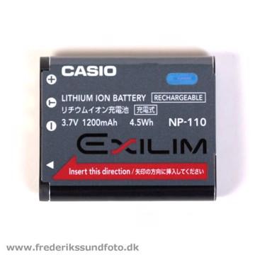 Casio NP-110 lithium-ion batteri