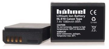 Hähnel HL-E10 til canon