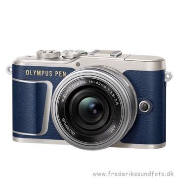 Olympus PEN E-PL9 14-42mm EZ blå
