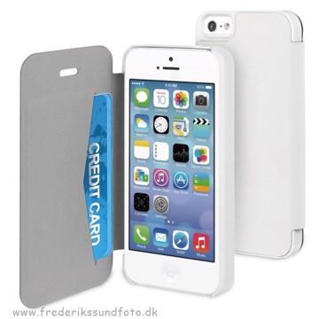 Muvit iPhone 5/5S Easy Folio Case Hvid