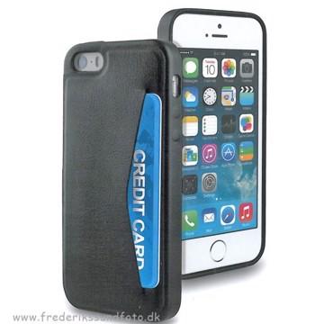 Muvit iPhone 6 cover med Kortholder Sort