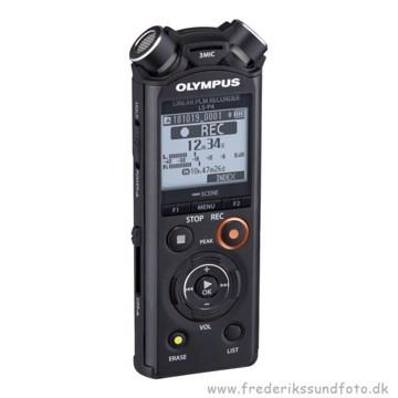 Olympus LS-P4 mikrofon / lydoptager