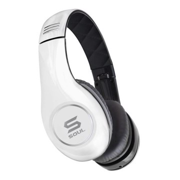 Soul SL150 On-Ear hovedtelefon m. Mic Hvid