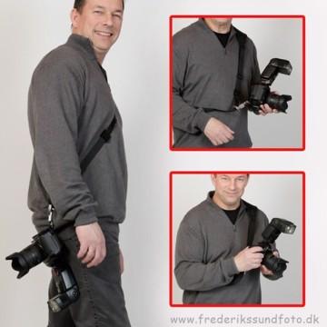 Focus Sling kamerarem m/F2 kameraplade til stativ