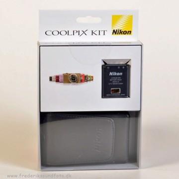 Nikon Kit Taske+ EN-EL10 batt.