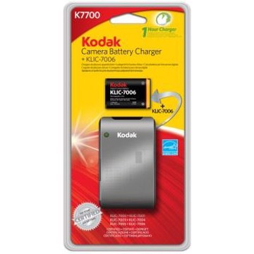 Kodak 1 time lader og Klic-7006 Batteri (Li-42)