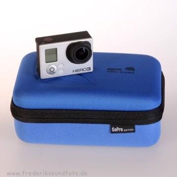SP POV Case Blå  til GoPro   Xsmall