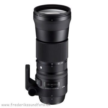 Sigma 150-600mm C f/5-6.3 OS  t/Nikon